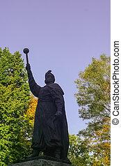 khmelnitsky, monumento, bogdan