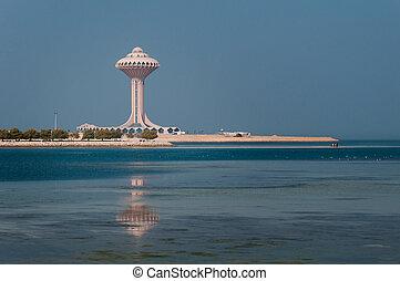 khobar, khobar, al, saudí, torre, arabia