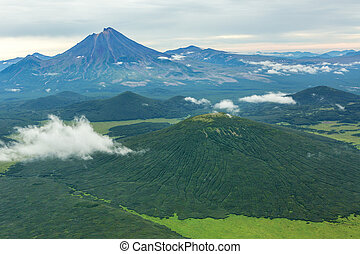 Khodutka Volcano. South Kamchatka Nature Park.