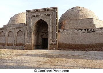 Khoja Mashhad, Tajikistan - Khoja Mashhad, Madrasa,...