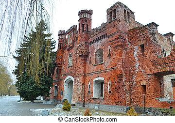 Kholmskiye gate in Brest Fortress, Belarus