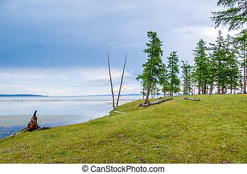 Khovsgol National Park, Mongolia - Khovsgol Lake in Khovsgol...