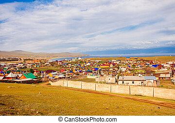 Khuzhir village, Olkhon island - Khuzhir village on Olkhon...
