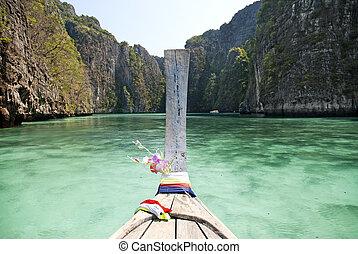 kiütés, phi phi sziget, alatt, thaiföld