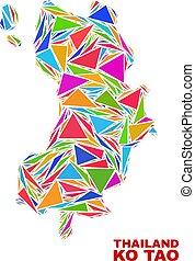kiütés, tao, térkép, -, mózesi, közül, szín, háromszögek