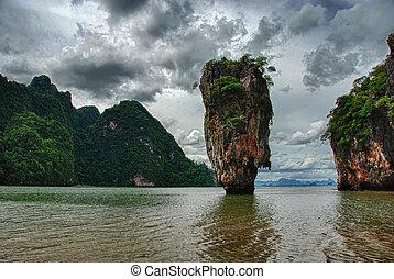 kiütés, tapu, thaiföld