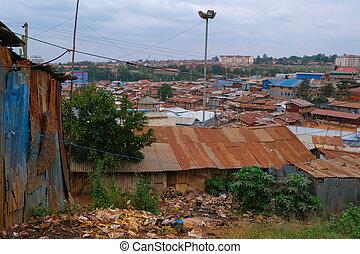kibera, elendsviertel, nairobi