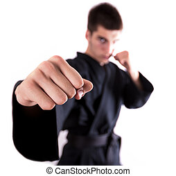 Kickboxing man