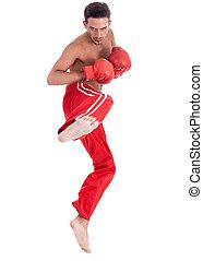 Kickboxing men