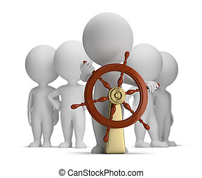 kicsi, 3, -, kapitány, legénység, emberek