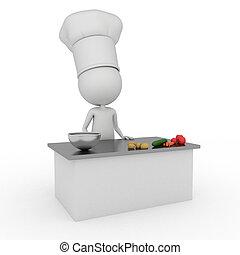 kicsi konyhafőnök