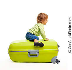 Kid and baggage