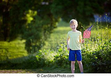 kid at 4th of july