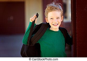 kid at school