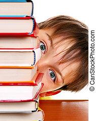 Kid behind the Books