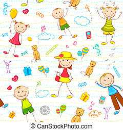 Kid Birthday Background