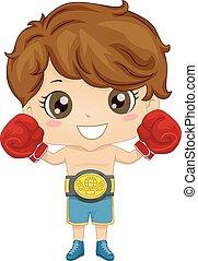 Kid Boy Boxer