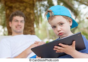 Kid Boy Little Tablet