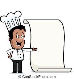 Kid Chef Menu