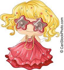 Kid Girl Fancy Outfit