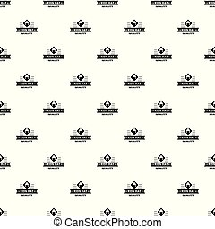 Kid hat pattern vector seamless repeat for any web design