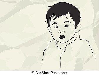Kid, illustration