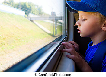 Kid in the Train