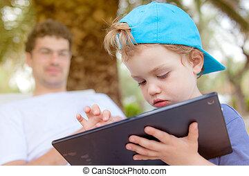 Kid Infant Tablet Father