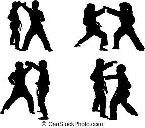 kid karate kumite