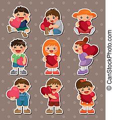kid love stickers