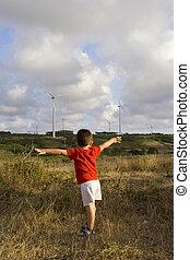 Kid loving ecology