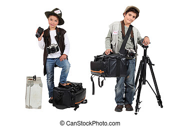 Kid photographers
