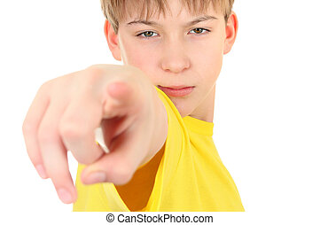Kid Pointing at You