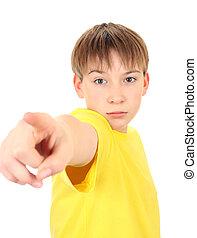 Kid Pointing