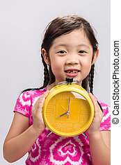 Kid with Clock