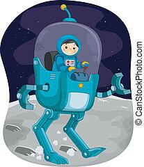 Kiddie Astronaut