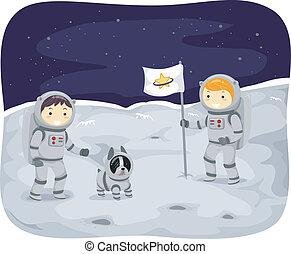 Kiddie Astronauts