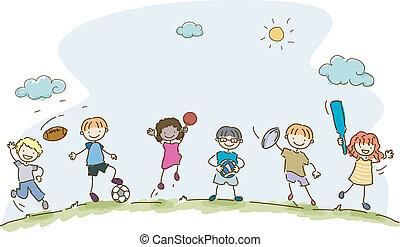 kiddie, sport