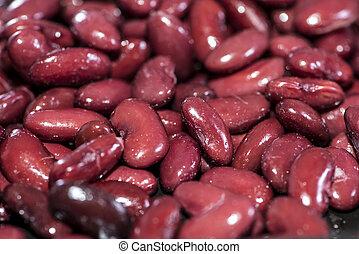 Kidney Beans Background (macro shot, fullscreen)
