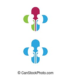 kidney vector illusrtation design logo template