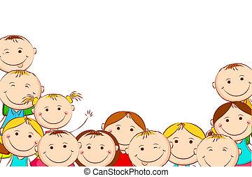 kids, счастливый