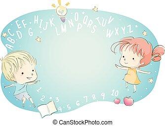Kids Alphabet Numbers Fantasy