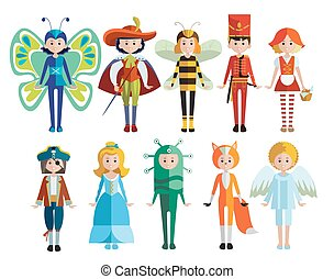 Kids And Carnival Costumes Collection