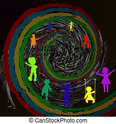 kids and time spiral