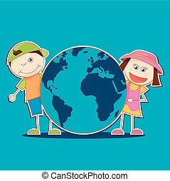 Kids And World