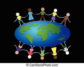 kids around globe