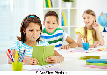 Kids at lesson