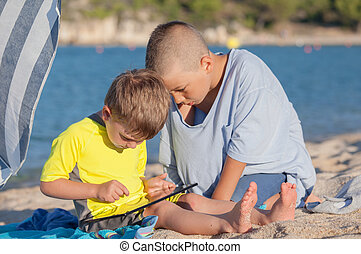 Kids Beach Tablet