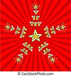 Kids Christmas Star