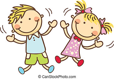 Kids - Little boy & girl